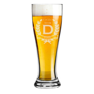 Groomsmen Gifts Personalized Beer Glasses