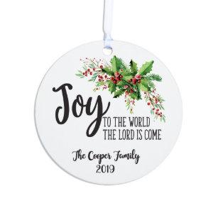 Joy To The World Ornaments & Keepsake Ornaments | Zazzle