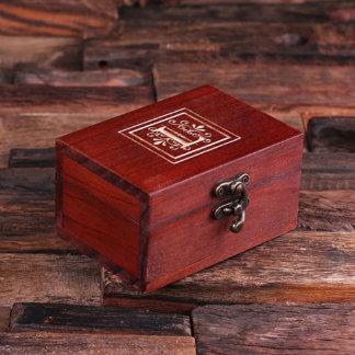 Personalized Rectangular Keepsake/Jewelry Box