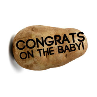 Baby Shower New Baby Congratulations Potato Parcel