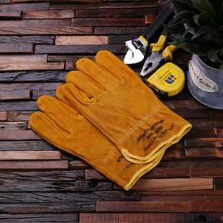 Personalized Suede Multipurpose Gloves – Gardening
