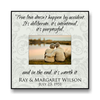 Personalized 12x12 Picture Frame for 5x7 Photo