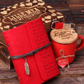 Personalized Valentine's Day 4pc Gift Set