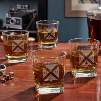 Special Reserve Personalized Old Fashioned Glasses