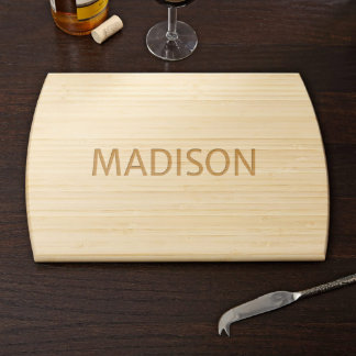 Family Treasure Personalized Bamboo Cutting Board