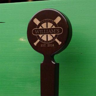 Sports Bar & Grill Custom Beer Tap Handle