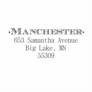Uno mismo de Manchester que entinta el sello