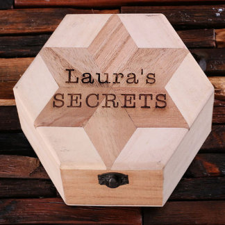 Personalized Wood Ring/Keepsake Box