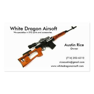 SVD Card, Austin Rice, (714) 202-6310, White Dr... Business Card