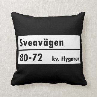 Sveavägen Estocolmo placa de calle sueca