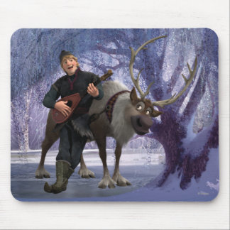 Sven and Kristoff Mouse Pad