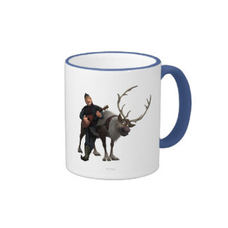 Sven and Kristoff Ringer Coffee Mug
