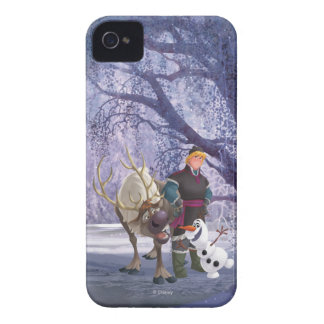 Sven, Olaf and Kristoff iPhone 4 Case-Mate Cases