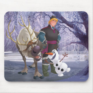 Sven, Olaf and Kristoff Mouse Pad