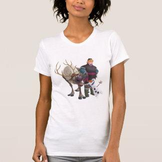 Sven, Olaf y Kristoff Camiseta