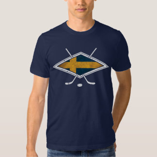 Svensk Ishockey T-Shirt with Back Print