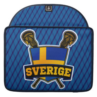 Svenska Sweden Lacrosse MacBook Pro Sleeve