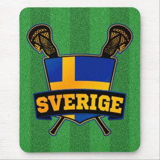 Svenska Sweden Lacrosse Mousepad