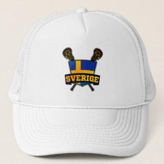 Svenska Sweden Lacrosse Trucker Hat