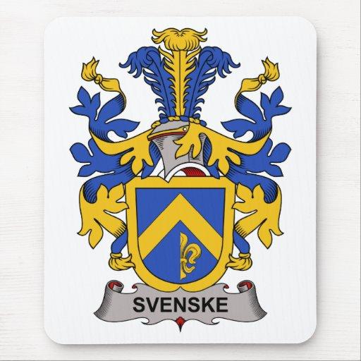 Svenske Family Crest Mousepads