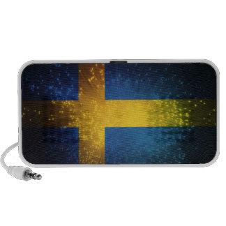 Sverige Bandera de Suecia Portátil Altavoz