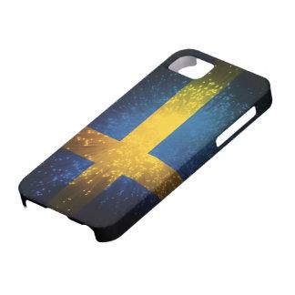 Sverige Bandera de Suecia iPhone 5 Carcasa