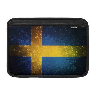Sverige Bandera de Suecia Funda Macbook Air