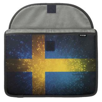 Sverige Bandera de Suecia Funda Para Macbook Pro