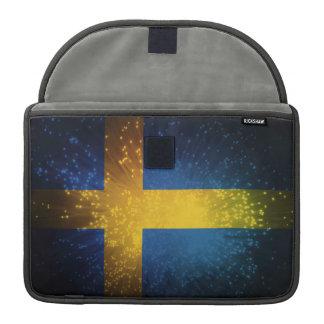 Sverige Bandera de Suecia Funda Para Macbooks