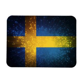 Sverige Bandera de Suecia Imanes Flexibles