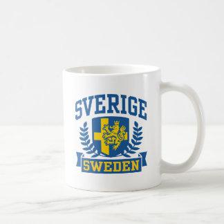 Sverige Classic White Coffee Mug
