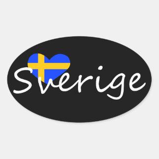 Sverige Colcomanias De Ovaladas