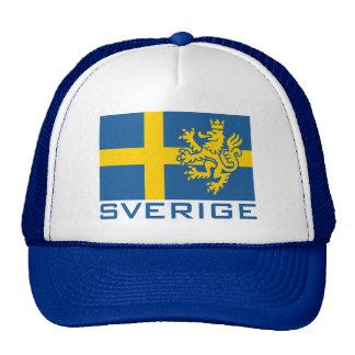 Sverige Flag Trucker Hat