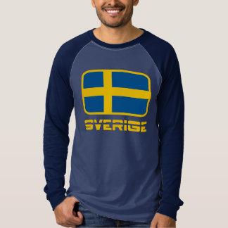 Sverige Flag T Shirt