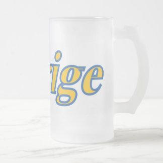 Sverige Frosted Mug