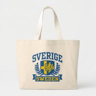 Sverige Large Tote Bag