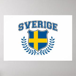Sverige Posters