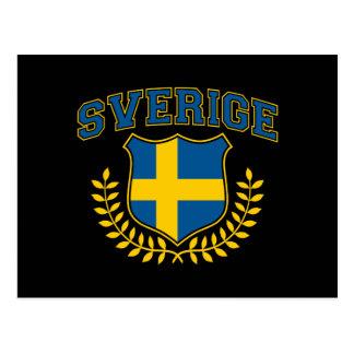 Sverige Postcard