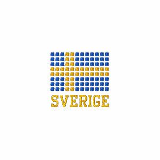 Sverige sjunker hoodien  - Swedish flag hoodie