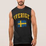 Sverige Sleeveless Shirts