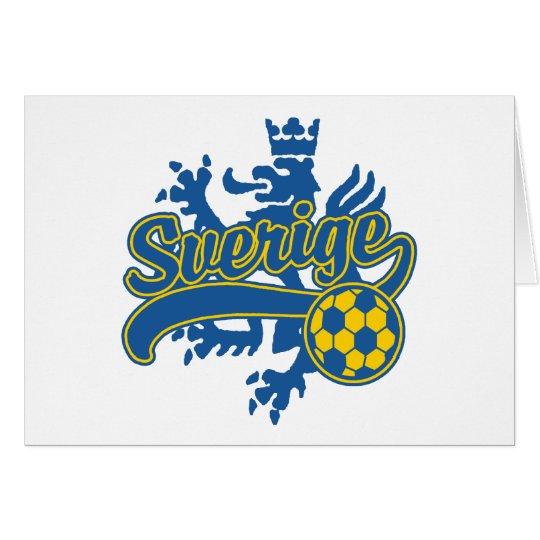 Sverige Soccer Card