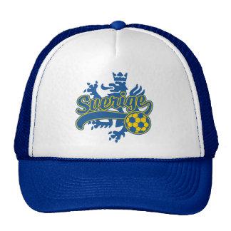 Sverige Soccer Trucker Hat