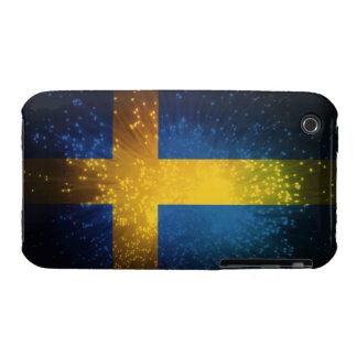 Sverige; Sweden Flag iPhone 3 Cases
