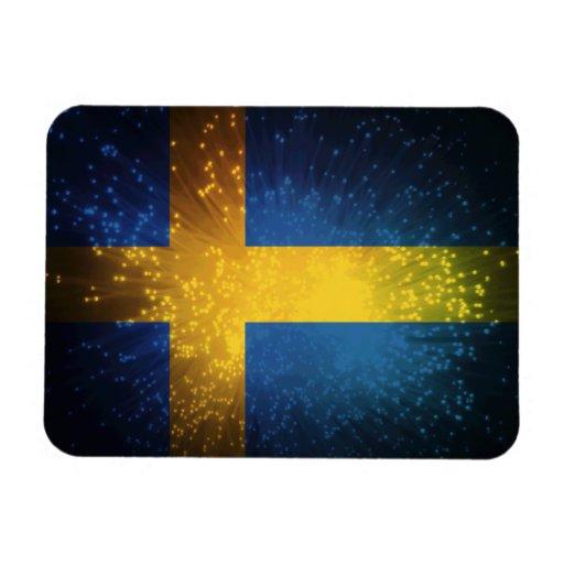 Sverige; Sweden Flag Vinyl Magnets