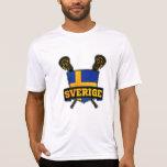 Sverige Sweden Lacrosse T-shirt