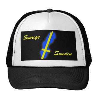Sverige = Sweden Map Trucker Hat