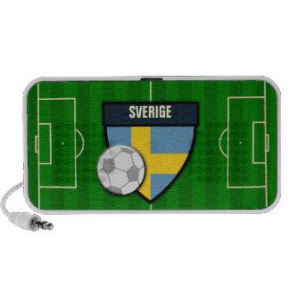 Sverige Sweden Soccer Flag Football iPhone Speaker