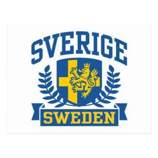Sverige Tarjeta Postal