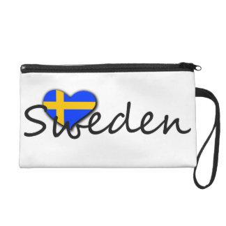 Sverige Wristlet Purse