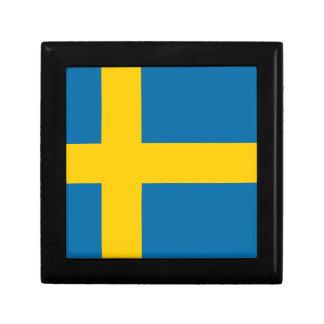 Sveriges Flagga - Flag of Sweden - Swedish Flag Gift Box